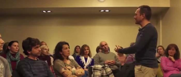 Conferencia Sergi Torres en Uruguay 2015